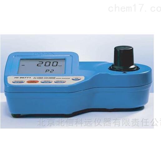 便携式双量程余氯浓度测定仪 便携式双量程余氯浓度测量仪