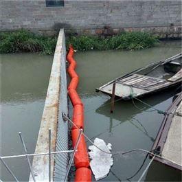 FT200*1000水面拦污排塑料浮筒拦截水面垃圾水上浮体