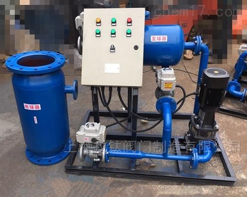 水泵式体型冷凝器在线清洗装置