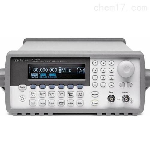 函数信号发生器美国安捷伦Agilent是德科技