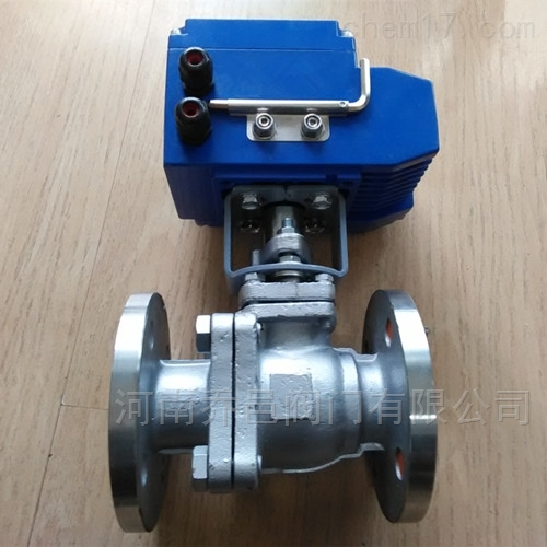 电动调节型衬氟球阀
