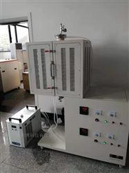 立式双温区1700℃管式炉