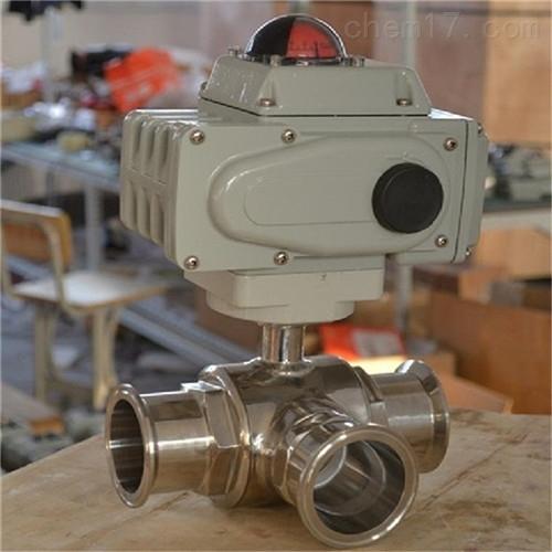 Q984F/Q985F电动卫生级三通球阀