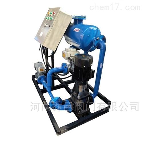 冷凝器在线自动清洗除污装置