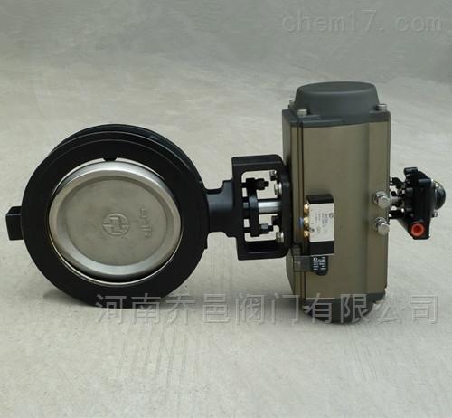 GD671F气动高性能美标蝶阀