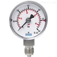 型號 131.11威卡波登管壓力表,不銹鋼材質