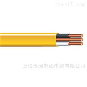 6242B埃因BS7211标准低烟无卤护套扁电缆