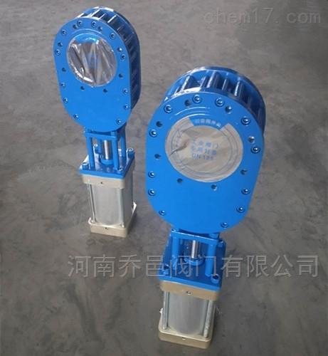 WZ644TC气动陶瓷双闸板进料阀