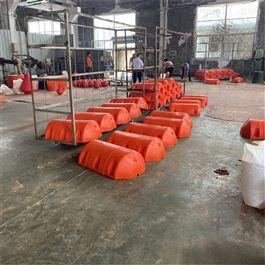 FT500*800水上塑料拦污浮筒垃圾拦截浮体