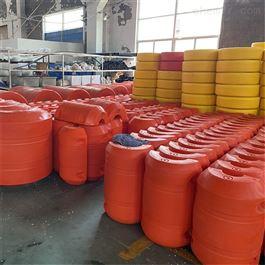 FT500*800两半片式夹网阻污拦污塑料浮筒拦截浮体