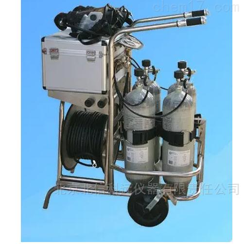 车式长管空气呼吸装置 长管输送气体供人体呼吸装置 有毒有害粉尘环境长管空气呼吸器