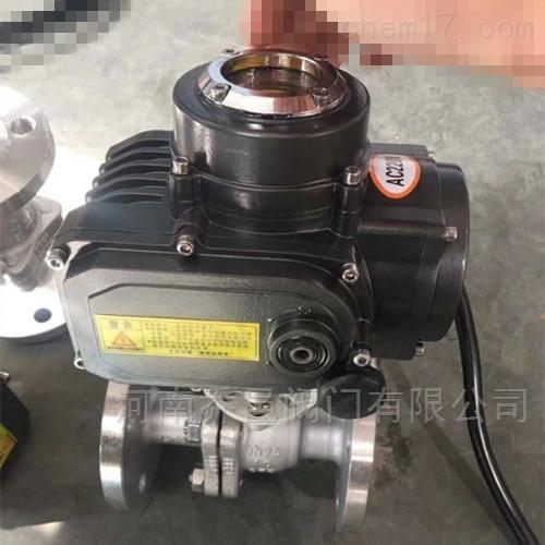 FSQ941F潜水型电动不锈钢球阀IP68防水型电动球阀