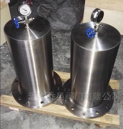不锈钢水锤消除器YQ-9000活塞式水锤吸纳器