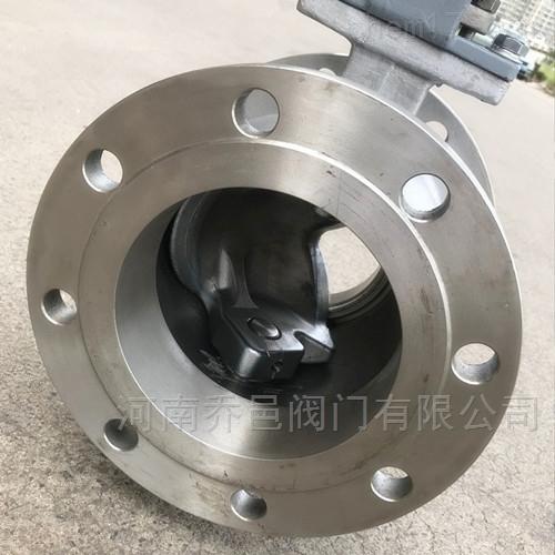 QV647F气动V型调节球阀