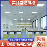 Q29广西药学院理化室耐酸碱PP净气型通风柜