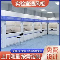 Q26贵州农业科检测室抗污垢PP实验室家具通风柜