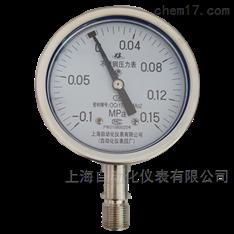 不锈钢真空压力表-0.1-0.15MPa