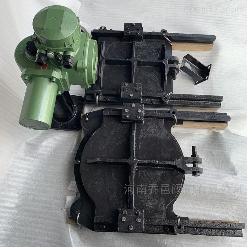 ZMQY手电两用铸铁镶铜圆形闸门
