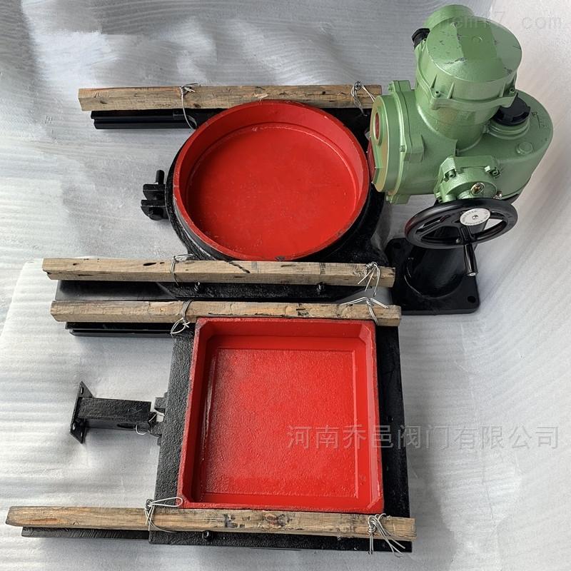 ZMY电动圆形铸铁镶铜闸门