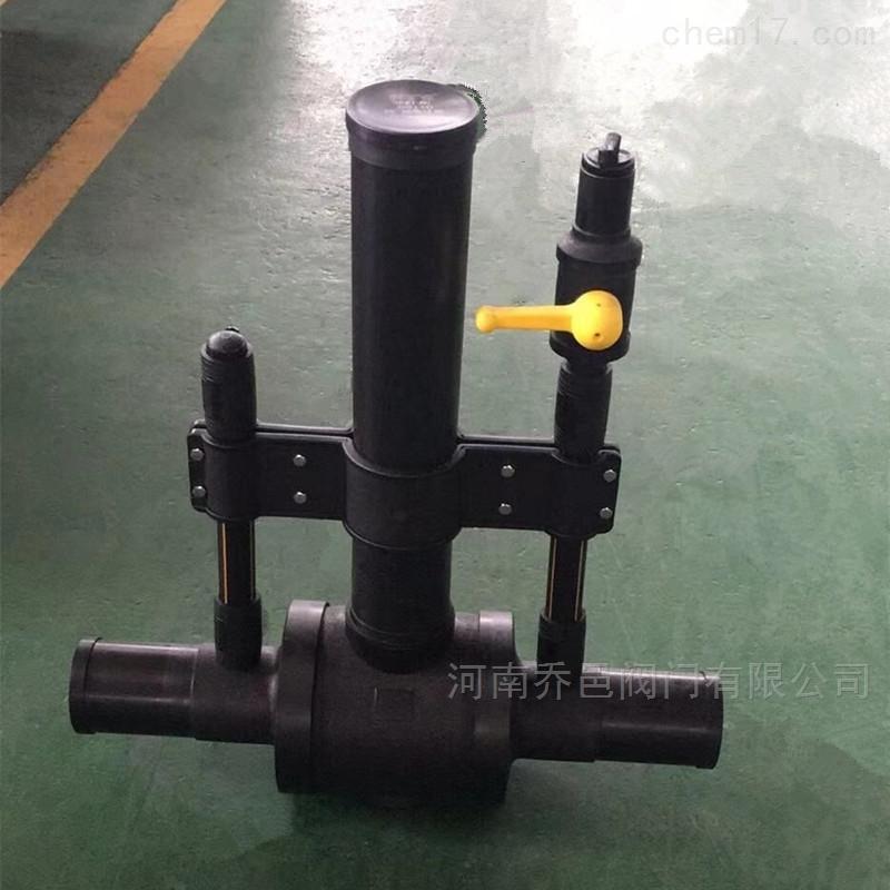 <strong><strong>单放散PE球阀</strong></strong>SDR11燃气用埋地聚乙烯球阀