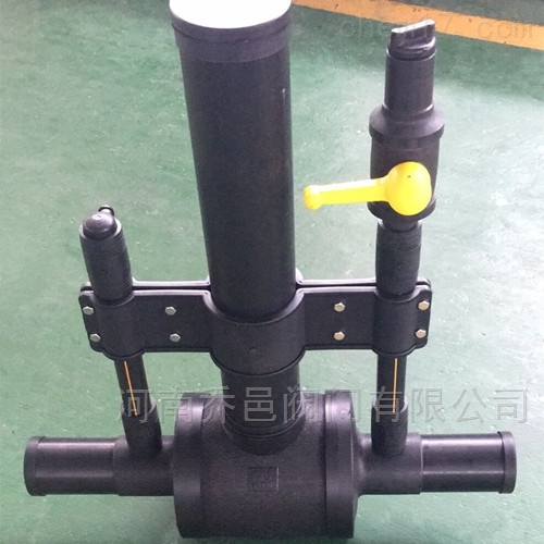 单放散型PE球阀 燃气埋地聚乙烯球阀