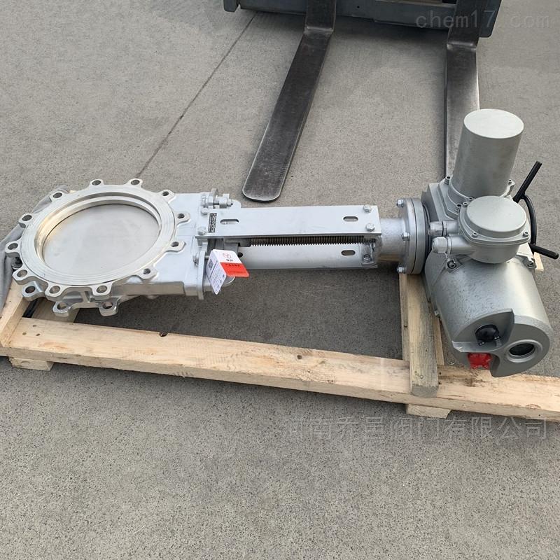 电动插板阀 电动闸板阀 电动刀型闸板阀