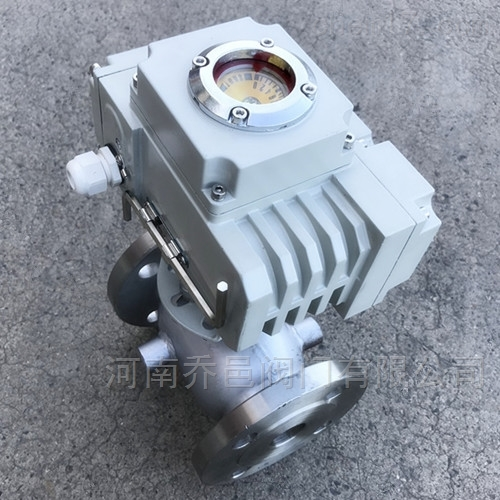 电动保温球阀 电动不锈钢保温法兰球阀