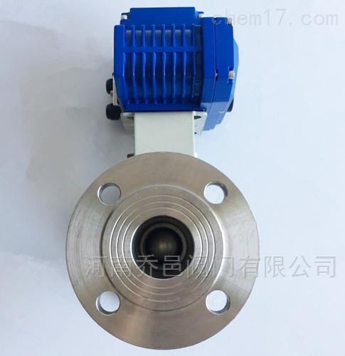 电动带手动不锈钢高温球阀