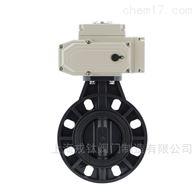 UD971X电动UPVC塑料蝶阀