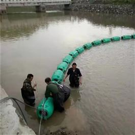 FT600*1000柏泰制造滚塑水面拦污塑料浮筒