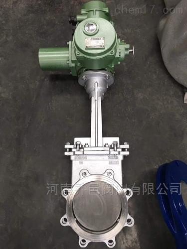 2520高温电动锅炉排渣阀310S高温电动插板阀