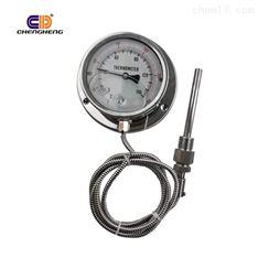 不锈钢压力式温度计防爆插入式毛细管连接