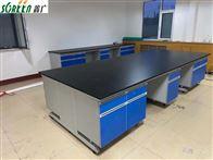 所需定制潍坊实验室家具-钢木实验台