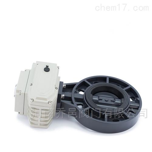 D971X-10U电动UPVC塑料蝶阀