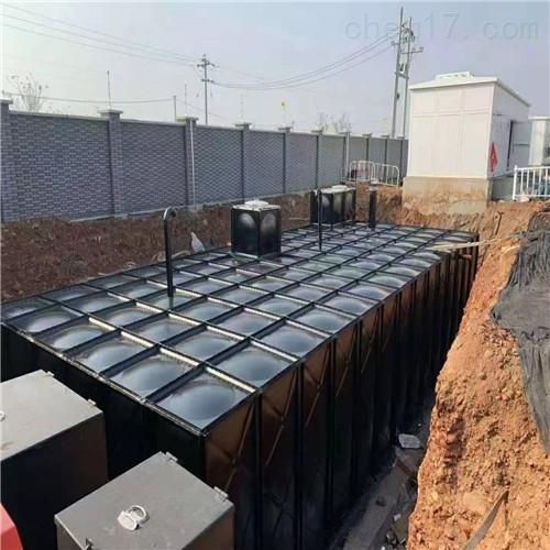 大模块无焊接箱泵一体化装配顺序