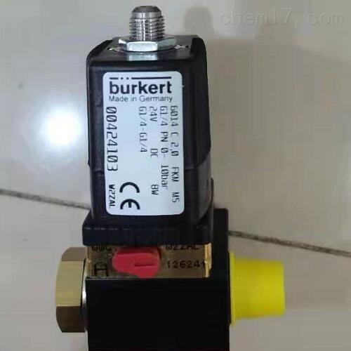 BURKERT类型0498三位五通带双止回阀