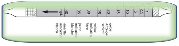 德尔格水蒸气检测管CH2340内部简介1