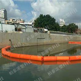 FT300*1000柏泰水上拦截塑料浮筒拦污阻污浮体