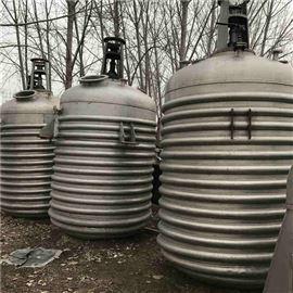 新到二手不锈钢反应釜价格便宜