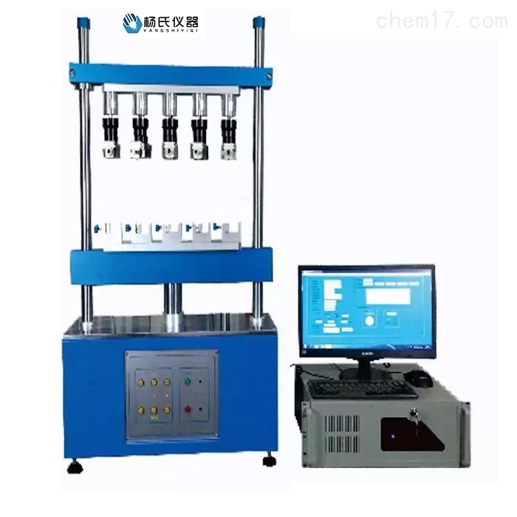 电子连接器全自动插拔力试验机