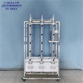 DYJ036絮凝沉降实验装置6组,污水处理实验给排水