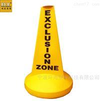 BT700*1100九龙坡水库警戒警示浮標聚乙烯材质