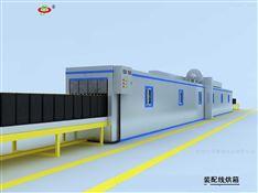 蓄电池行业隧道式固化炉