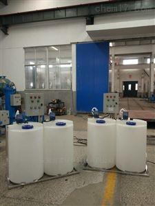 全自动加药装置搭配计量泵液位计电导仪价格