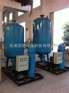 如何选型定压补水装置总容积 补水量