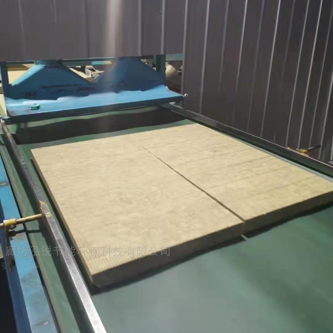 岩棉复合砂浆纸保温板憎水隔离带岩棉板