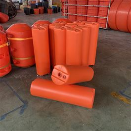 FT300*1000聚乙烯河道拦截浮排柏泰塑料浮筒