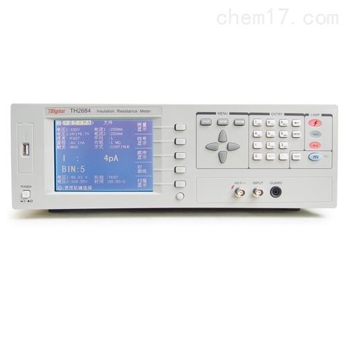 TH2684绝缘电阻测试仪