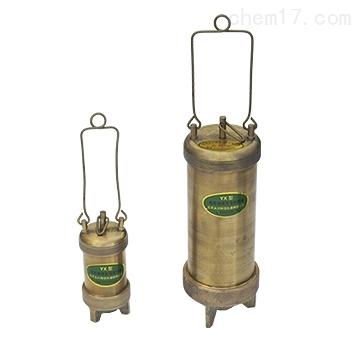 /铜质底部液体石油取样器  厂家