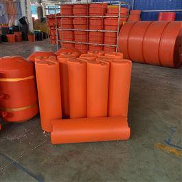 FT300*1000红色警示拦截塑料拦污浮筒